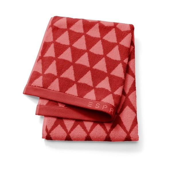 Ręcznik Esprit Mina 70x190 cm, czerwony
