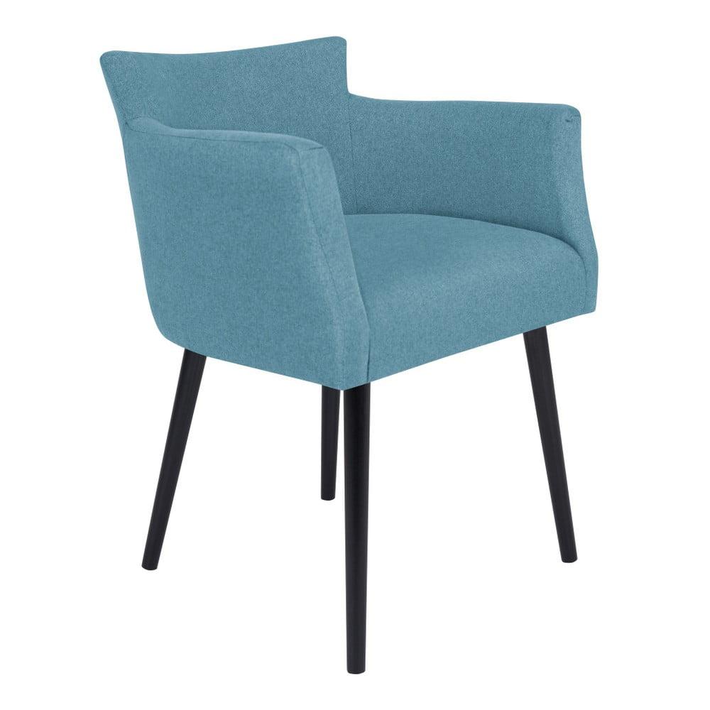 Jasnoniebieskie krzesło z podłokietnikami Windsor & Co Sofas Gemini