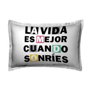 Poszewka na poduszkę Sonrie Unico, 50x70 cm