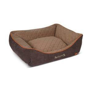 Legowisko dla psa Thermal Bed 60x50 cm, brązowe