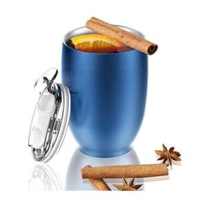 Nierdzewny kubek termiczny Imperial Beverage, niebieski