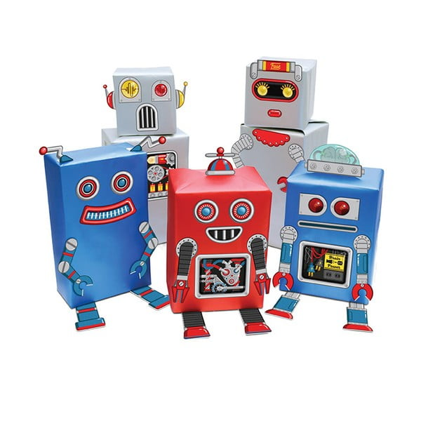 Papier ozdobny Robot