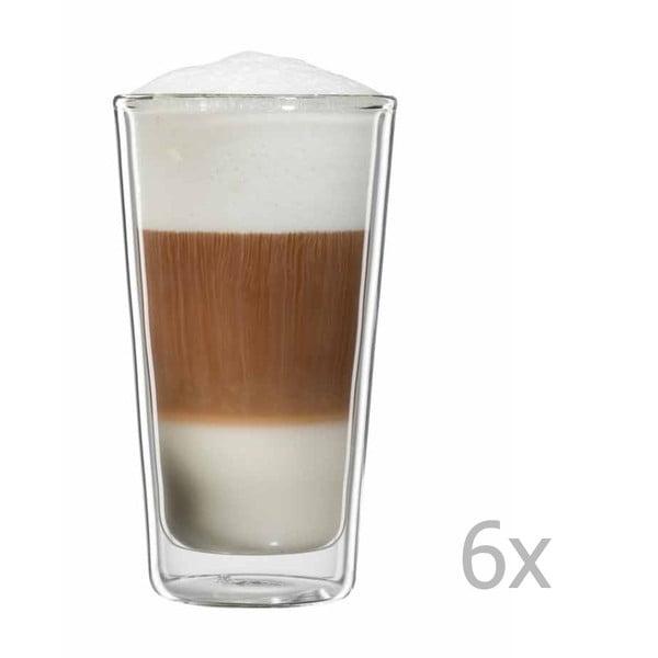 Zestaw 6   szklanek na latte macchiato bloomix Milano