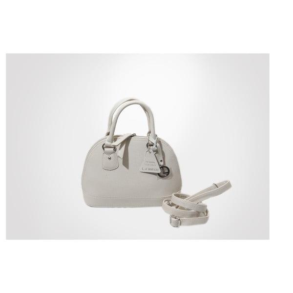 Skórzana torebka Toufee, ivory