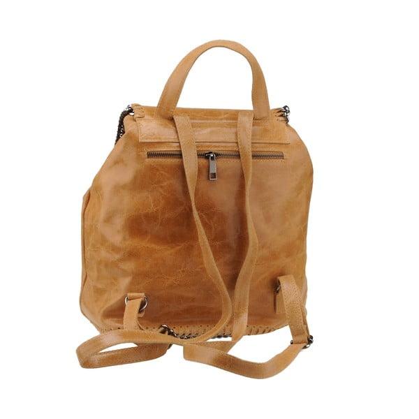 Skórzany plecak Situla, brązowy