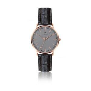 Zegarek męski z czarnym paskiem skórzanym Frederic Graff Rose Eiger Croco Black Leather