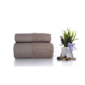 Zestaw 2 ręczników Pretty V1, 50x90 cm + 70x140 cm
