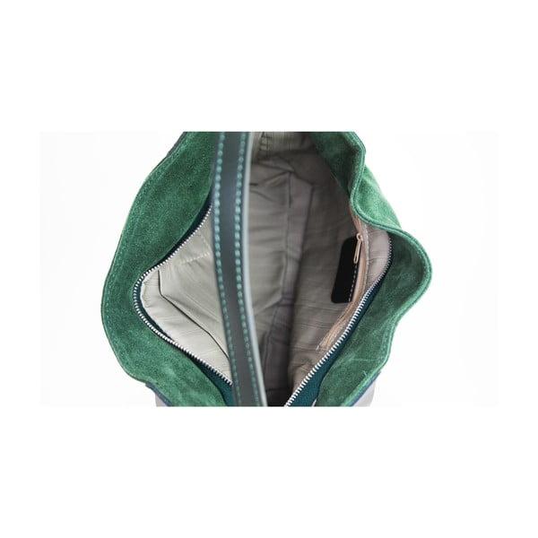 Skórzana torebka Duose Verde