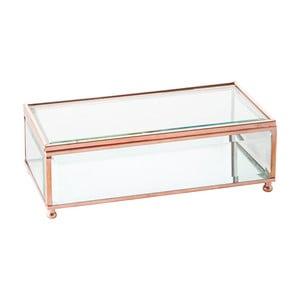 Szkatułka Jewel Glass, 20x20 cm