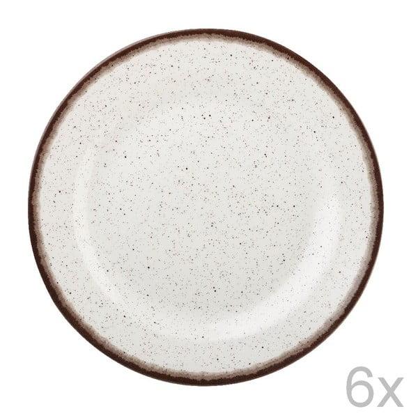 Zestaw 6 talerzy Bakewell Mint, 20 cm