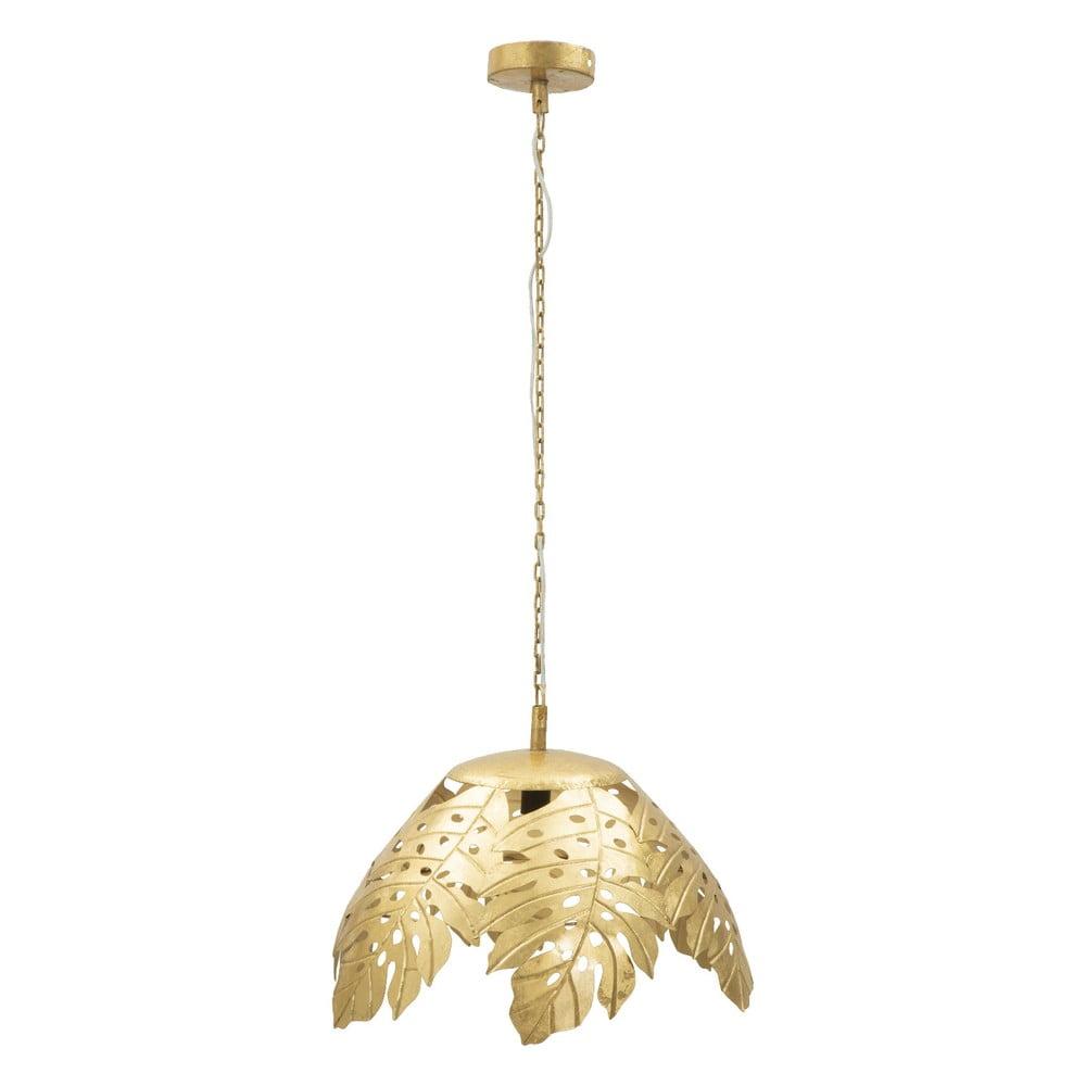 Lampa wisząca z żelaza w złotym kolorze Mauro Ferretti Palm