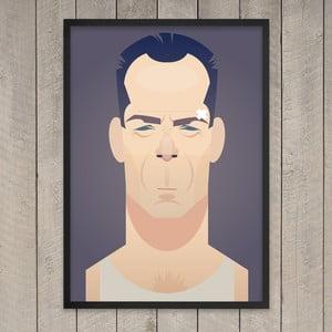 """Plakat """"Die hard"""", 29,7x42 cm"""