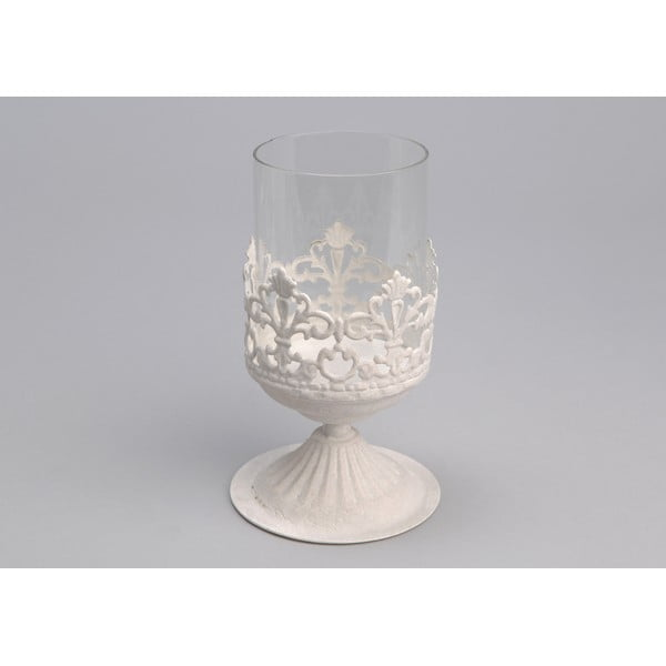 Świecznik White Jar