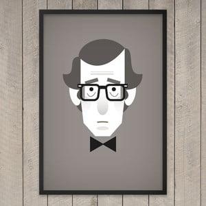 """Plakat """"Woody Allen"""", 29,7x42 cm"""