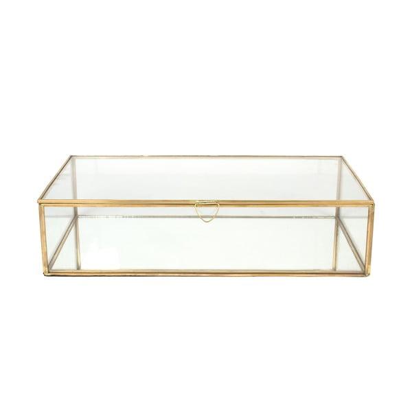 Szklana skrzynka Carre, 36x21 cm