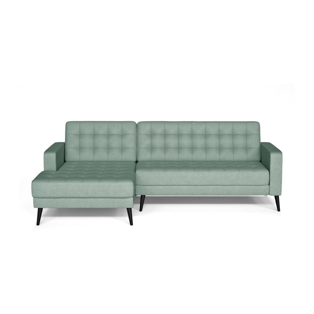 Niebieski sofa Prêt à Meubler Classics Boston, lewostronna