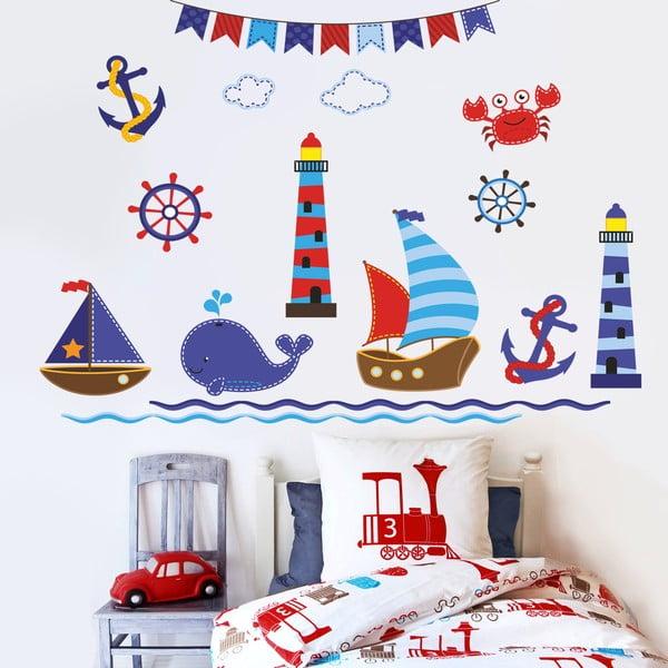 Naklejka dekoracyjna na ścianę Marynarze
