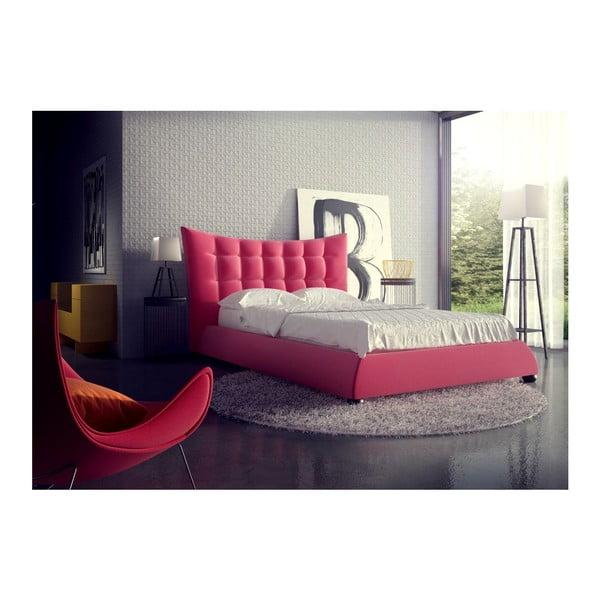 Łóżko Morgan Pink, 180x200 cm