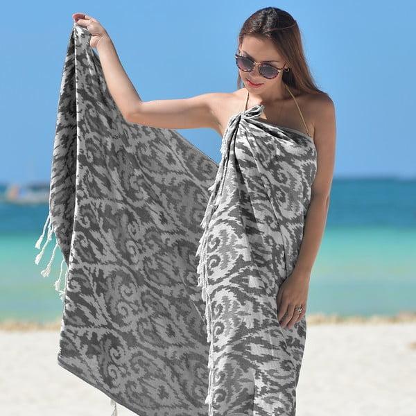 Szary ręcznik hammam Legacy
