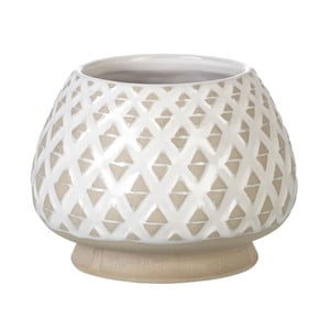 Wazon Goblet Light Grey, 15x20 cm