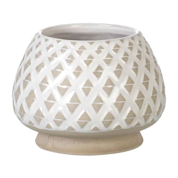 Wazon Goblet Light Grey, 15x20 cm