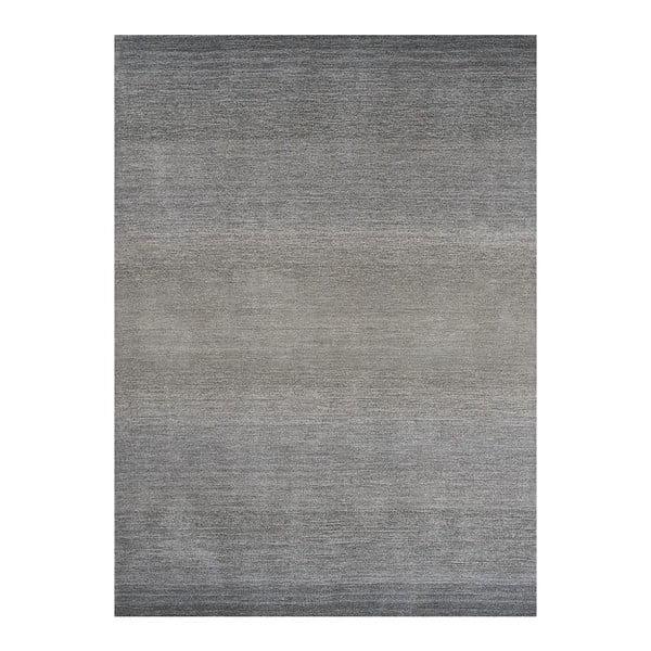 Wełniany dywan Graduation Grey, 140x200 cm