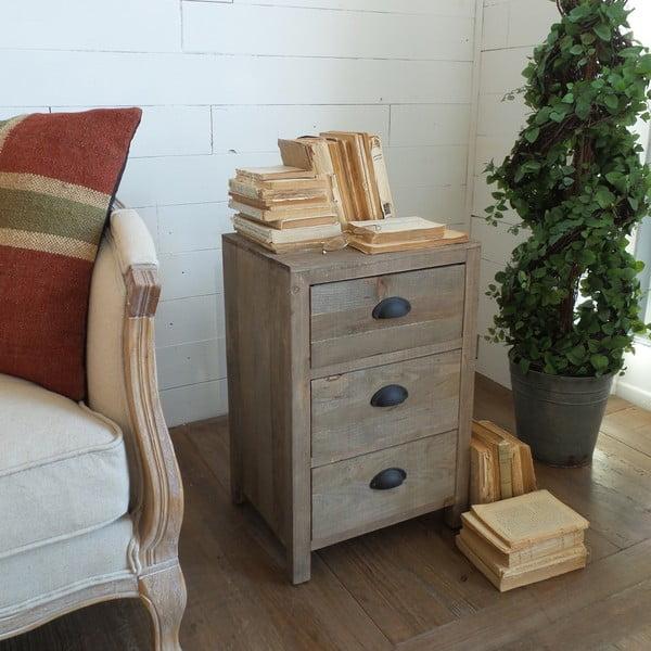 Stolik z szufladami Vintage Country