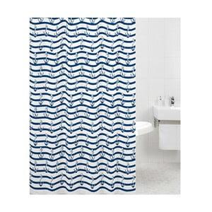Zasłona prysznicowa Navy, 180x180 cm