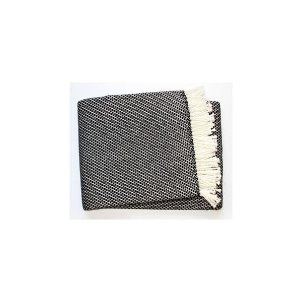 Koc Zen Plaid Black, 140x180 cm