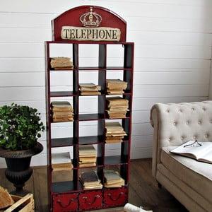 Biblioteczka z szufladami Piccadilly