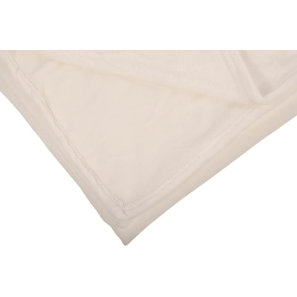 Pled Toison White, 125x150 cm