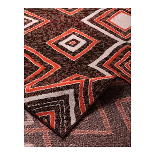 Brązowy dywan Prime Pile, 190x280 cm