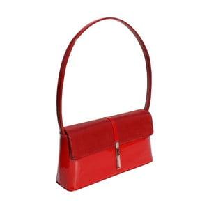 Skórzana kopertówka Boscollo Red 2502