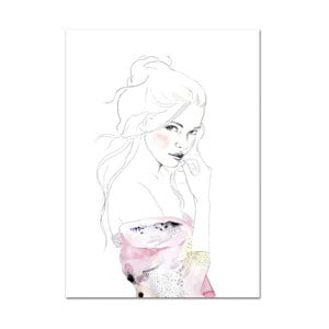 Plakat Leo La Douce Edda, 42x59,4cm