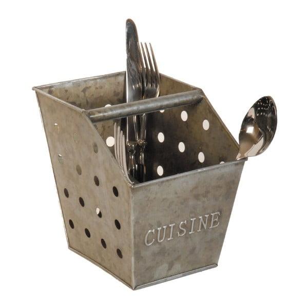 Metalowy pojemnik na sztućce Antic Line Cuisine