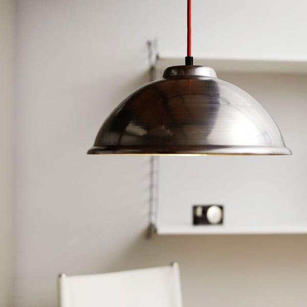 Lampa sufitowa Globe Stahl/Red