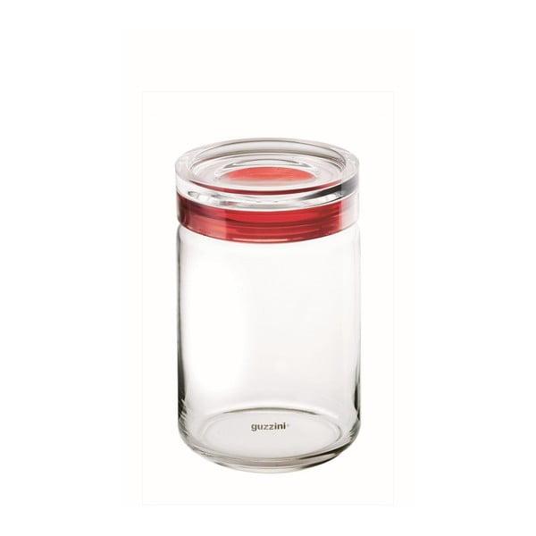 Czerwony pojemnik Fratelli Guzzini Latina 750