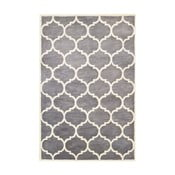 Szary dywan tuftowany ręcznie Bakero Florida, 183x122 cm