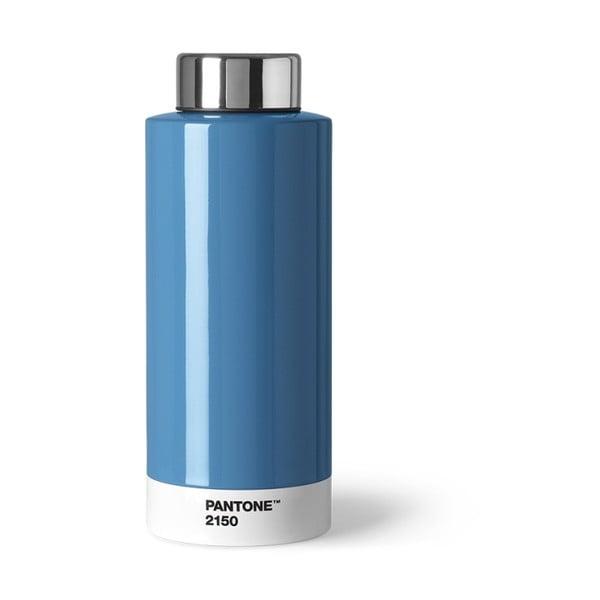 Niebieska butelka ze stali nierdzewnej Pantone, 630ml