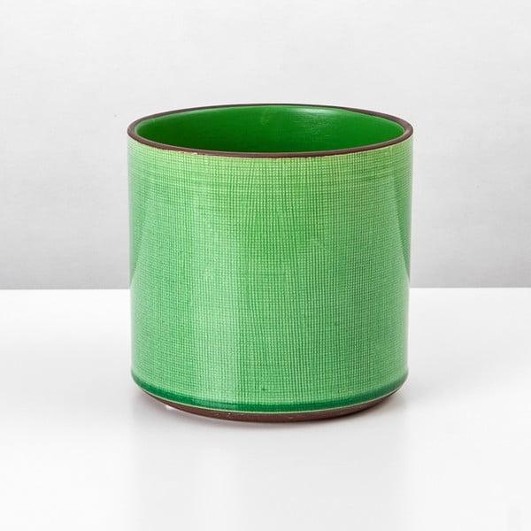 Ceramiczna osłona na doniczkę Jungle Mech, 7,5x7,5 cm