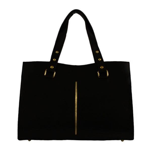 Czarna skórzana torebka Veronica