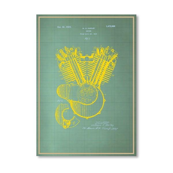 Plakat Motorhead Memo, 30x42 cm