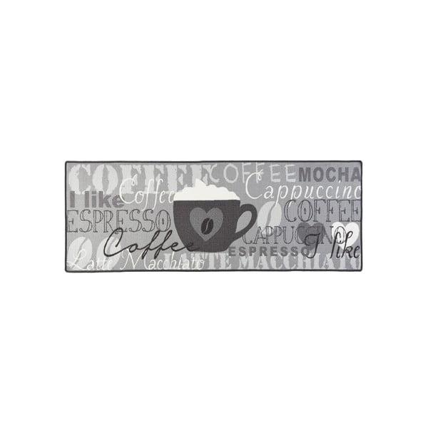 Szary dywan kuchenny HanseHomeCoffeeCup, 67x180cm