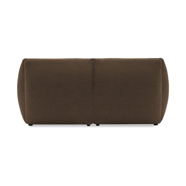 Sofa dwuosobowa VIVONITA Cube Dark Beige z podnogiem