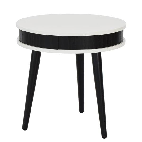 Stolik Hugo 50 cm, czarny