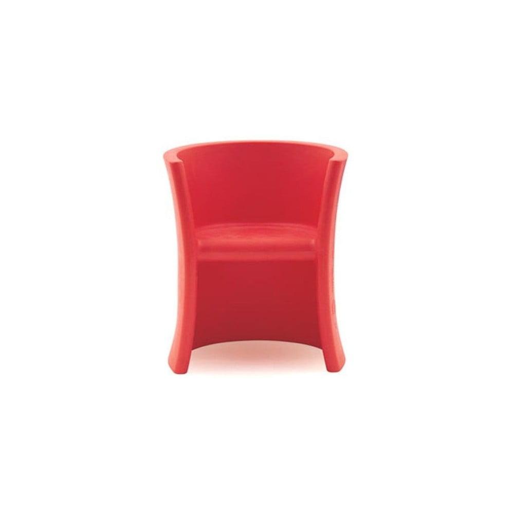 Czerwone krzesło dziecięce Magis Seggiolina Trioli