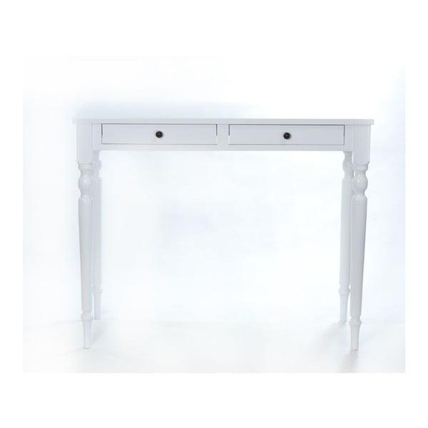 Toaletka Milton White, 100x42x82 cm