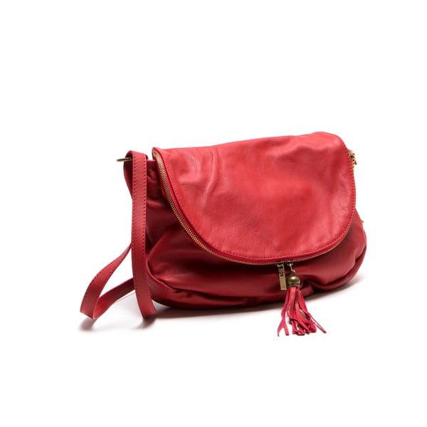 Skórzana torebka Isabella Rhea 2053, czerwona