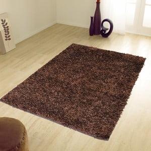 Brązowy dywan Webtappeti Shaggy, 60x100cm
