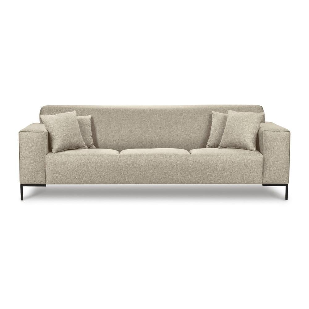 Beżowa sofa Cosmopolitan Design Seville, 264 cm